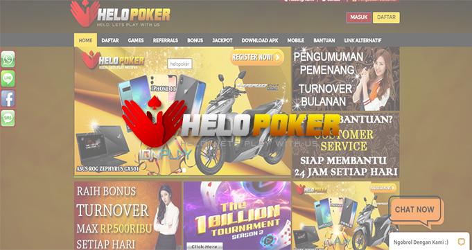 Situs Poker Online Terpopuler Helopoker